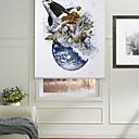 billige TV-bokser-Abstract Inspiration Rushing Marine Animalis Roller Shade