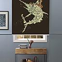זול מנורות שולחן-Artistic Inspiration Tuna And Fisher Roller Shade
