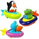 ราคาถูก ของเล่นน้ำ-สัตว์รูปแบบเรือพายทารก bathtime ของเล่นน้ำ (สีสุ่ม)