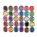 billiga Saxar & Klippare-30 färger Ögonskuggor Puder Öga Matt Skimmrig Glittrig rökig Festmakeup Kosmetisk Present