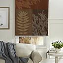 זול פלטה ותומך-Painting Style Botanic Roller Shade