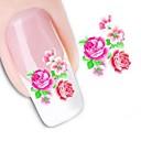 ราคาถูก ผ้าคลุมโซฟา-1 pcs 3D สติ๊กเกอร์สำหรับเล็บ Water Stick Sticker เล็บ ทำเล็บมือเล็บเท้า ดอกไม้ / การแต่งงาน / แฟชั่น ทุกวัน / สติกเกอร์เล็บ 3 มิติ