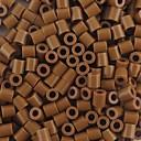 Χαμηλού Κόστους Σχέδιο Παιχνίδια-περίπου 500pcs / 5 χιλιοστά τσάντα καφέ χάντρες Perler θρυαλλίδα χάντρες hama diy παζλ eva υλικό safty για παιδιά