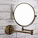 billiga Campingkök-Badrumspryl Justerbar passform Antik Mässing / Glas 1 st - Spegel dusch tillbehör