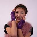 billiga Vinteraccessoarer-kvinnors mode personlighet varma halvan fingrar stickning fötter strumpor