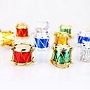 billiga Dekorationer-12 st jul dekorationer multicolor tabour widgets
