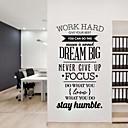 povoljno Zidne tapete-jiubai® san veliki citat inspiracija zidne naljepnice zidne naljepnice, 58 * 95cm 1pc