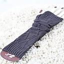billiga Vinteraccessoarer-dammode lång stycke stickad vante
