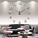 """olcso Fali órák-39 """"-es 3D-s tükör számok akril matrica falióra"""