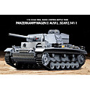 billige Fjernstyrte biler-Heng Long 1/16 Panzerkampfwagen III SdKfz RC BattleTank