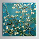 billige Blomster-/botaniske malerier-lerret oljemalerier mandelgrener i blomst, san remy, c.1890 av vincent van gogh håndmalte klar til å henge