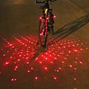 cheap Women's Boots-Laser LED Bike Light Bar End Light Rear Bike Tail Light Safety Light Mountain Bike MTB Bicycle Cycling Alarm LED Light Multi-tool Warning Battery Cycling / Bike / IPX-4
