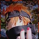 Χαμηλού Κόστους Περούκες Cosplay Ανιμέ-Naruto Στολές Ηρώων Περούκες για Στολές Ηρώων Ανδρικά 14 inch Ίνα Ανθεκτική στη Ζέστη Πορτοκαλί Anime