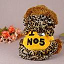 Χαμηλού Κόστους Παιχνίδια που Διώχνουν το Στρες-Σκύλος Παλτά Χειμώνας Ρούχα για σκύλους Κίτρινο Ροζ Στολές Παιδιά Μικρός σκύλος Βαμβάκι XXS XS Τ M L
