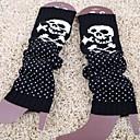 billiga Vinteraccessoarer-kvinnors höst och vinter skallen vågen pekar stickning varma fötter strumpor