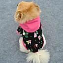 ราคาถูก เสื้อผ้าสำหรับสุนัข-แมว สุนัข Hoodies Dog Clothes สีดำ Polar Fleece เครื่องแต่งกาย สำหรับ ฤดูหนาว สำหรับผู้ชาย สำหรับผู้หญิง คริสมาสต์