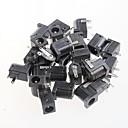 billiga Strömbrytare-kvinnliga dc pluggen Anslutning, dc-005, 5.5-2.1mm uttag (20pcs)