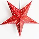 povoljno Naljepnice-Trodimenzionalni laserom papir Božić zvijezda
