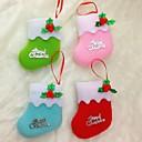 billiga Gåvor till alla hjärtans dag-10cm jul strumpor för jul part dekoration 6st