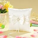 povoljno Jastuk za prstenje-Mašnica / Faux Pearl Saten ring pillow Vrt Tema