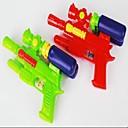 baratos Brinquedo de Água-garrafa de plástico duplo pistola tampa (cor aleatória)