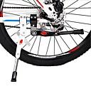 זול Bottom Brackets-קיקסטנד מתכווננת רכיבה על אופניים עבור אופני כביש אופני הרים רכיבת אופניים סגסוגת אלומיניום לבן שחור