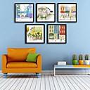 Χαμηλού Κόστους Εκτυπώσεις σε Κορνίζα-Καμβάς σε Κορνίζα Σετ σε Κορνίζα - Αρχιτεκτονική PVC Εικόνα Wall Art
