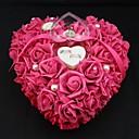 povoljno Jastuk za prstenje-petal / Uzde Saten ring pillow Cvjetni Tema / Klasični Tema