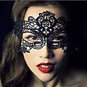 Χαμηλού Κόστους Μάσκες-Δαντέλα Μάσκα Μάσκα μάσκας Απόκριες μάσκα Εμπνευσμένη από Απόκριες Μαύρο Halloween Ανδρικά Γυναικεία