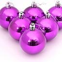 billiga Dekorationer-julgran dekoration plast jul bollar