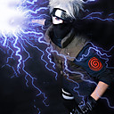 olcso Anime jelmez parókák-Naruto Hatake Kakashi Szerepjáték parókák Férfi 14 hüvelyk Hőálló rost Szürke Anime