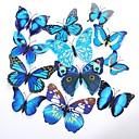 povoljno Svadbeni ukrasi-Jedinstven svadbeni dekor PVC / Miješani materijal Vjenčanje Dekoracije Svadba Butterfly Theme / Klasični Tema Sva doba