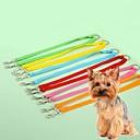 baratos Colares, Coleiras e Peitorais para Cães-Gato Cachorro Trelas Retratável Fantasias Náilon Verde Azul Rosa claro