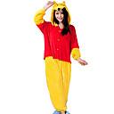 povoljno Kigurumi plišane pidžame-Odrasli Kigurumi plišana pidžama Imajte Sa životinjama Onesie pidžama Flanel Flis Bijela Cosplay Za Muškarci i žene Zivotinja Odjeća Za Apavanje Crtani film Festival / Praznik Kostimi