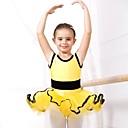 billige Danseklær til barn-Ballet Kjoler Spandex / Tyll Kort Erme / Ballett / Oppvisning