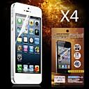 Χαμηλού Κόστους Θήκες iPhone-Προστατευτικό οθόνης για Apple iPhone 6s / iPhone 6 4 τμχ Προστατευτικό μπροστινής οθόνης Υψηλή Ανάλυση (HD)