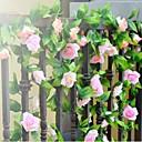billige Kunstig Blomst-Bryllupsblomster Buketter Andre Dekorasjoner Kunstig blomst Bryllup Fest / aften Materiale Blonde Silke 0-20cm