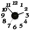povoljno Zidni satovi-DIY ljepilo Decal moderna zidna znamenka broj soba unutarnje uređenje sat