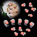 Χαμηλού Κόστους Προβολείς Εργασίας-Μεταλλικό Γκλίτερ Για δάχτυλο toe τέχνη νυχιών Μανικιούρ Πεντικιούρ Λουλούδι / Κλασσικό / Γάμος Καθημερινά