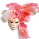 Χαμηλού Κόστους Gadget Μπάνιου-Φτερό Μάσκα Αποκριάτικη μάσκα Εμπνευσμένη από ενετικός Halloween Απόκριες Γυναικεία