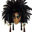 baratos Luzes Ilha-Pena Máscara Mascara de carnaval Inspirado por Veneziano Dia Das Bruxas Carnaval Mulheres