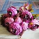 Χαμηλού Κόστους Ψεύτικα Λουλούδια-8 κεφάλι υψηλής ποιότητας ευρωπαϊκού στυλ βασιλιά παιωνία προσομοίωση λουλούδι