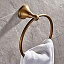 billige Håndklestenger-Håndklestang Høy kvalitet Antikk Messing 1 stk - Hotell bad håndkle ring