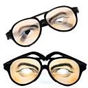 billiga Magi och trollkarl-1 par män ögon print praktiskt skämt roliga glasögon för halloween dräktparti (15.5x6cm)