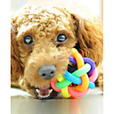 billiga Hundleksaker-Boll Interaktiv leksak Hundleksak Husdjur Leksaker gnissla Gummi Present