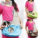 ราคาถูก อุปกรณ์เดินทางสุนัข-แมว สุนัข ให้บริการ & เป้เดินทาง กระเป๋าสะพาย ผ้า สัตว์เลี้ยง ตะกร้า Portable ระบายอากาศ สีเขียว ฟ้า สีชมพู
