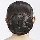billiga Håraccessoarer-Klassisk Hårknut updo Syntetiskt hår Hårstycke HÅRFÖRLÄNGNING Klassisk Dagligen Brun / Ljusguldig / Mörkbrun