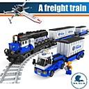 ราคาถูก บล็อกอาคาร-ausini 25111 หน่วยการสร้างประกอบรถไฟบรรทุกสินค้า