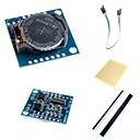 baratos Módulos-i2c DS1307 módulo de relógio em tempo real minúsculo RTC 2560 uno R3 e acessórios para arduino