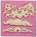 Χαμηλού Κόστους Κορνίζες Υπογραφών & Πιατέλες-1pc Σιλικόνη Φιλικό προς το περιβάλλον 3D Κέικ Μπισκότα Πίτες ψήσιμο Mold Εργαλεία ψησίματος